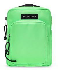 Balenciaga 'explorer' Shoulder Bag Neon - Metallic