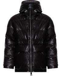 Khrisjoy Jacket From Vegan Leather - Black