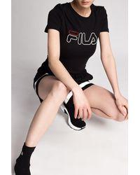 Fila T-shirt With Logo Black