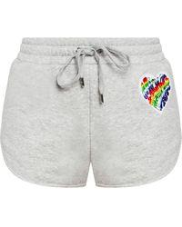 MICHAEL Michael Kors Shorts With Logo - Grey