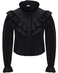Vetements Long-sleeved Top Black