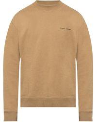 Samsøe & Samsøe Sweatshirt From Gots Cotton - Green