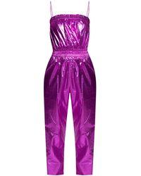 Isabel Marant - Sleeveless Jumpsuit Pink - Lyst