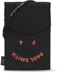 PS by Paul Smith Strapped Pouch - Black