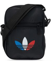 adidas Originals Shoulder Bag With Logo - Black