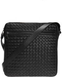 Bottega Veneta 'intrecciato' Shoulder Bag - Black