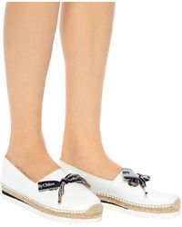 See By Chloé Slip-on Platform Shoes - White