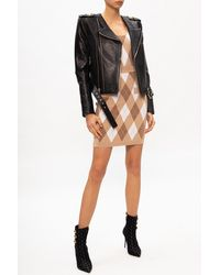 Balmain Patterned Body With Logo Beige - Natural