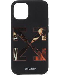 Off-White c/o Virgil Abloh Iphone 12 Mini Case Unisex Black
