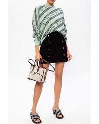 Givenchy Patterned Jumper - Black