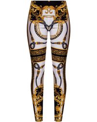 Versace Patterned leggings - Multicolour