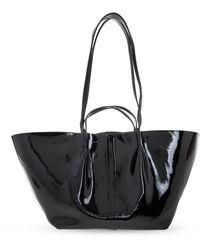 AllSaints 'odette' Shopper Bag - Black