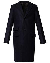 Zadig & Voltaire Wool Coat - Blue