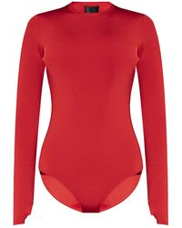 Givenchy - Long-sleeved Bodysuit Red - Lyst
