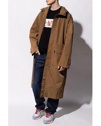 DIESEL Rain Coat Brown
