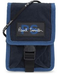 PS by Paul Smith Strapped Pouch - Blue