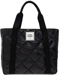 Opening Ceremony Quilted Shopper Bag - Black