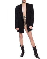 Dolce & Gabbana Sequinned Panties - Metallic