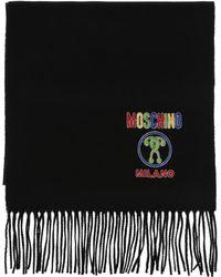 Moschino - Logo Scarf - Lyst