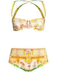 Etro Two-piece Swimsuit Multicolour