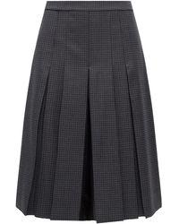 Maison Margiela Wool Shorts Grey
