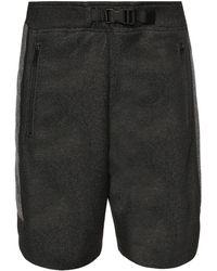 DIESEL - Marl Shorts - Lyst