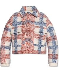 Levi's Cropped Jacket With Pockets - Multicolour