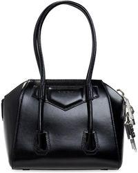Givenchy 'antigona' Shoulder Bag - Black