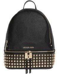 MICHAEL Michael Kors 'rhea-zip' Backpack Black