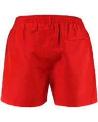 Paul Smith Drawstring Swim Shorts Red