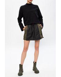 Nike Skirt With Logo - Green