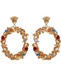 Versace - Medusa Head Earrings - Lyst