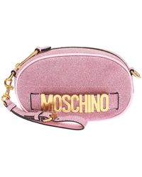 8a204e5b2f Moschino Home Air Freshener Bag In Pink Calfskin in Pink - Lyst