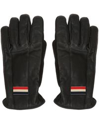 Moncler Sleeves With A Logo - Black
