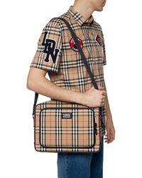 Burberry Branded Shoulder Bag Beige - Natural