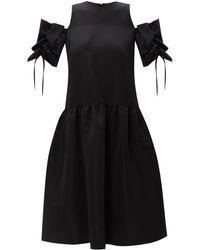 Victoria, Victoria Beckham Dress With Bows Black