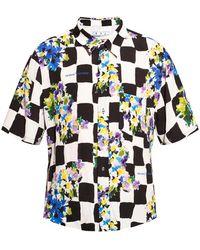 Off-White c/o Virgil Abloh Short-sleeved Shirt Multicolour - Black