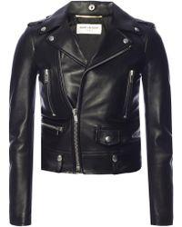 Saint Laurent Women's Jacket - Black