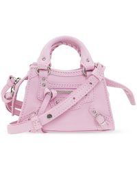 Balenciaga 'neo Classic City' Shoulder Bag - Pink