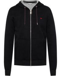 Dior Bee Motif Hooded Sweatshirt - Black
