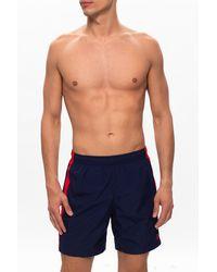 Alexander McQueen - Skull Motif Swim Shorts - Lyst