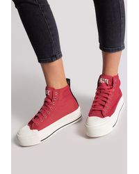 DIESEL 's-astico' High-top Trainers - Pink