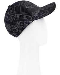 Versace Jeans Couture Baseball Cap With Logo Unisex Black