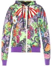 Gucci - Floral Motif Sweatshirt - Lyst