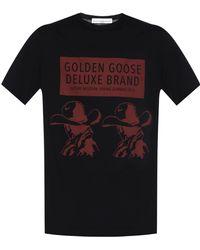 Golden Goose Deluxe Brand - Printed T-shirt - Lyst
