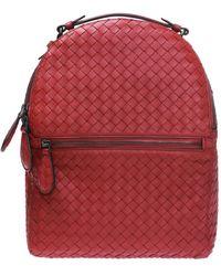 Bottega Veneta - Intrecciato Backpack - Lyst