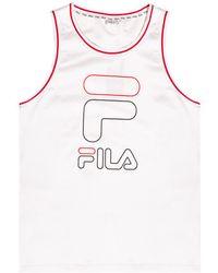 Fila Sleeveless T-shirt White