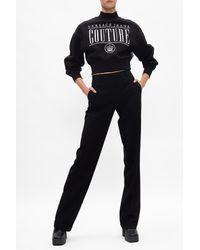 Michael Kors Pleat-front Trousers - Black