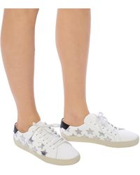 Saint Laurent California Sneakers - White