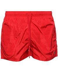 Fendi - Patched Swim Shorts - Lyst